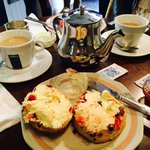 Our cream tea!