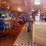 Bar area at The Tullie Inn