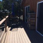 deck of the lindauer cabin