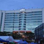 Hotel from night market