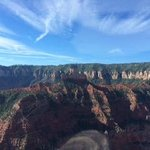 Helicopter tour over North Rim