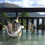 Our perfect wedding....thank-you to all at The Onich Hotel x