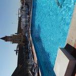 piscine sur le toit