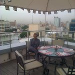 Roof top dining area - Kefi