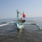 Voor Cleopatra: net opgehaald door local vissers