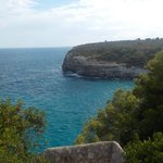 Blick runter in die Cala Romantica