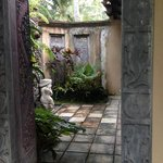 The bathroom open air