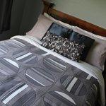 Liebevoll hergerichtete Betten