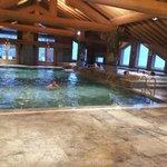 piscine et jacuzzi en haut
