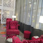 Cozy places to relax in reception