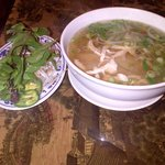 Pho Xpress downtown San Diego chicken pho