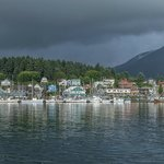 View of Sitka from the bridge