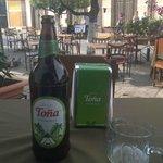 Having an afternoon Tona on Calzada