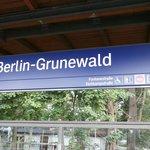 Train staion Grunewald