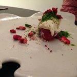 STRAWBERRY Parmesan, basil