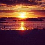 A beautiful sunset of mackenzie