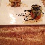 Spring rolls di salmone affumicato