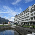 Hotel facing the Hardanger Fjiord