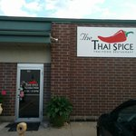 The entrance to Thai Spice