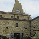 Castillo de la Mota, en la cima del monte