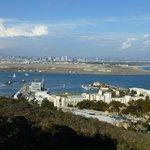 View of Submarine Base