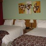 Habitación doble, una cama matrimonial para cada uno!