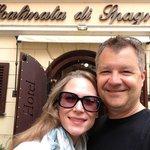 Very happy visitors at Scalinata Di Spagna