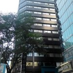 just 5 mints you walk out from Myeondong sub station.. you can see Nine Tree Hotel Building..