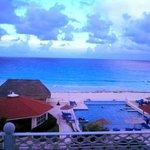 La vista desde nuestra terraza