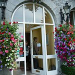 Lovely entrance to The Highfield House