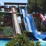 Great water slides!