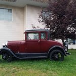 Model A parked in front of the Model A Inn  |  1908 Cranbrook St N, Cranbrook, British Columbia