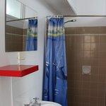 Shower room in dorm