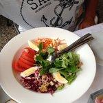 примитивный салатик
