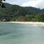 Anantara Strand von weitem