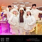 Winterfest Ice Bar with Ice Angels