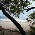 Banana Beach a few minutes north of hotel by ATV