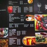 our menu 2