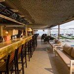 Bar - near the pool and the beach