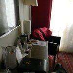 В номере есть чайные принадлежности