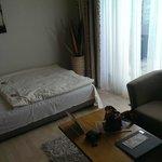 Sofa bed in sala