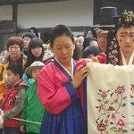 Korean wedding ceremory