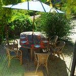 Sortie depuis la Salle-à-manger : déjeuner au soleil !