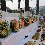 Gala dinner - at pool