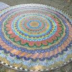 Mosaik im Park