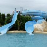 La piscine... géniale !