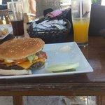 That's the honky tong burger
