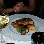 Suprême de volaille farcie au foie gras