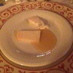 Pecorino mit Honig nach dem Dessert