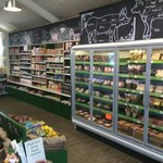 A large range of locally sourced produce